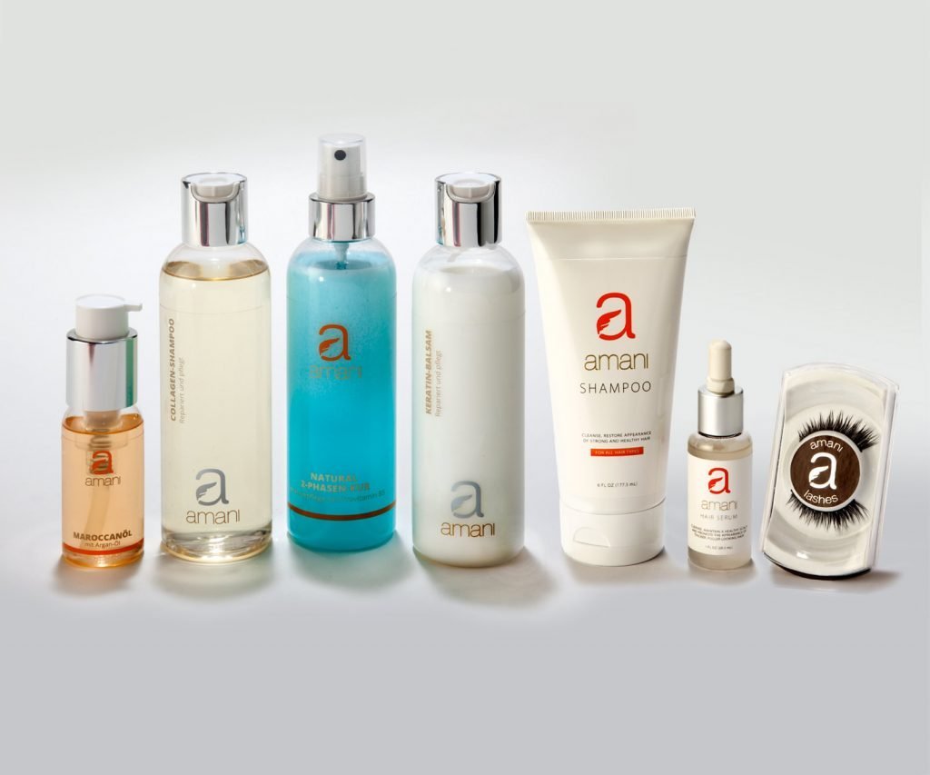 Amani Hair Care and Beauty Products